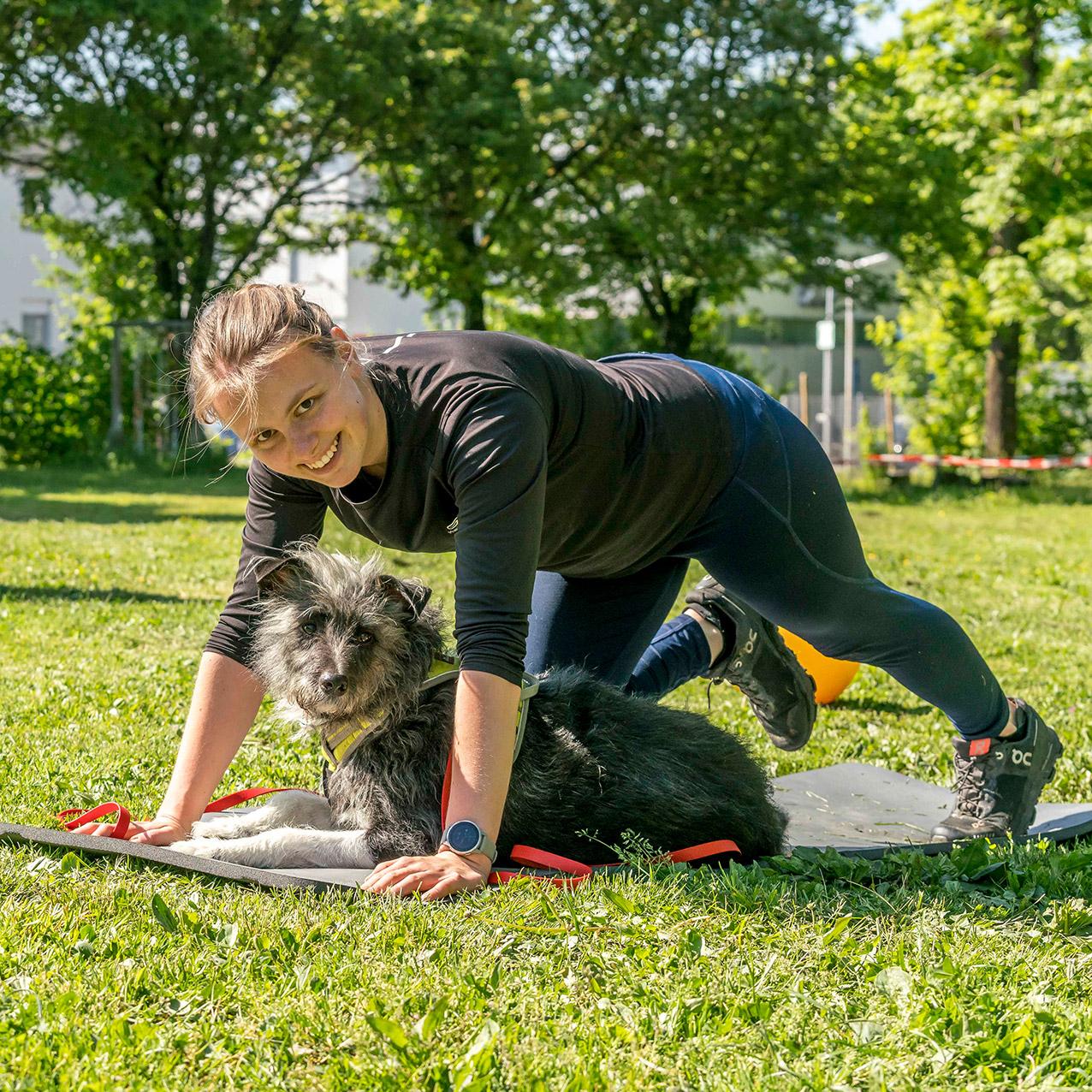 Fitnesstraining für Mensch und Hunc